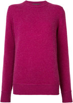 The Elder Statesman cashmere crew neck jumper - women - Cashmere - XS