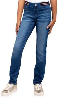 White Jordache Jeans Girls Toddler Red Blue Skirtall