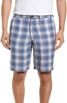 Tommy Bahama Plaid de Leon Reversible Linen Shorts