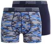 Puma 2 Pack Shorts Black