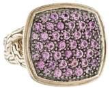 John Hardy Pink Sapphire Classic Chain Ring