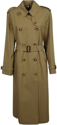 Burberry Double-breasted Long Trench