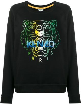 Kenzo Tiger Head-Print Sweatshirt