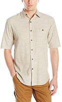 Wolverine Men's Birchwood Chambray Slub Short Sleeve Shirt