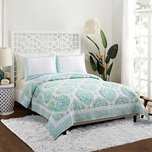 Dena Home Bohemian Breeze Cotton Quilt Set, Queen