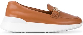 Tod's Hardware Detail Platform Loafers