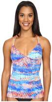 TYR Emerald Lake Cascade Cross Tankini