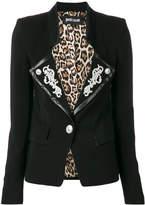 Just Cavalli embroidered formal jacket