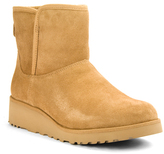 UGG Kristin - Suede/Shearling Wedge Bootie