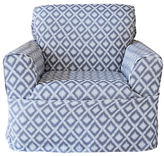 Sure Fit Ikat Wrap-Style Chair Slipcover
