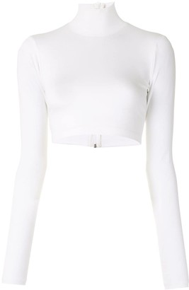 Alexis High Neck Cropped Top