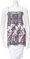 Etoile Isabel Marant Sleeveless Printed Top