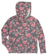 Splendid Girl's Floral Print Hoodie