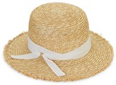 Hat Attack Shady Straw Boater Hat