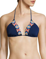Shoshanna Bahamas Beaded String Bikini Top