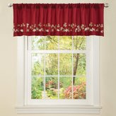 Triangle Home Fashions Lush Decor Flower Drop Valance