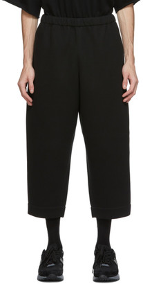 N.Hoolywood Black Compile Easy Trousers