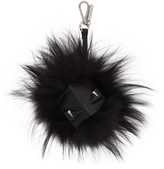 Fendi Black 'Bag Bug' Keychain