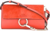 Chloé Faye wallet on strap bag - women - Calf Leather - One Size