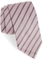 Ermenegildo Zegna Stripe Silk & Wool Tie