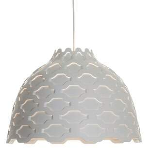 Louis Poulsen 1 - Light Single Dome Pendant Shade Color: White