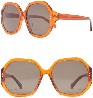 Stella McCartney 59mm Round Sunglasses