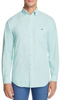 Vineyard Vines Crowell Gingham Performance Tucker Classic Fit Button Down Shirt