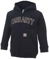 Carhartt Caviar Black Logo Zip-Up Hoodie - Infant & Toddler