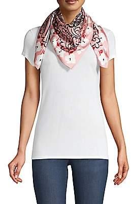 Salvatore Ferragamo Women's Toscana Print Silk Scarf