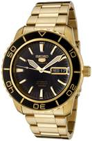 Seiko Men's SNZH60 5 Automatic Dial Gold-Tone Stainless Steel Watch