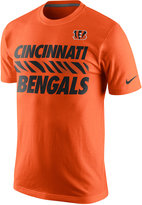 Nike Men's Cincinnati Bengals Team Stripe T-Shirt