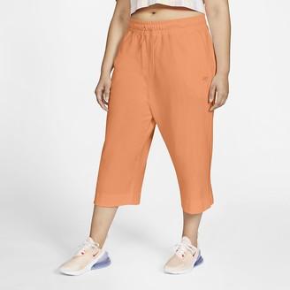 Nike Womens Jersey Capris (Plus Size Sportswear