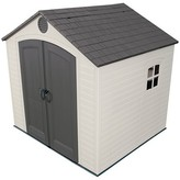 Lifetime Outdoor Storage Shed 8' x 7.5' - Gray And White