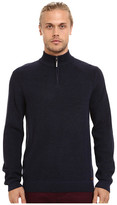 Ted Baker Hardmun Ribbed Detail Long Sleeve Funnel Neck