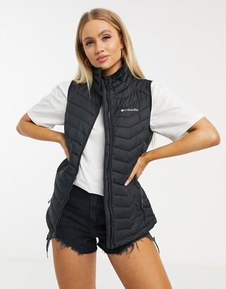 Columbia Powder Lite vest in black