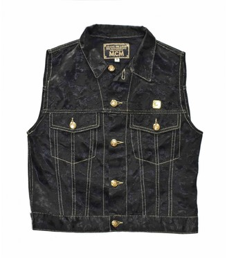 MCM Black Synthetic Jackets