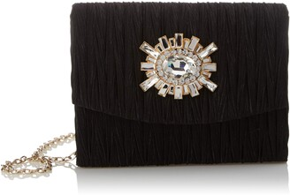 Jessica McClintock Anderson Ruched Clutch