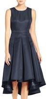 LuLu*s Cutout Back Tea Length High/Low Dress
