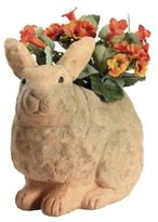 Terra Cotta Rabbit Planter