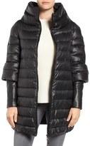Rudsak Leather Trim Down Puffer Coat