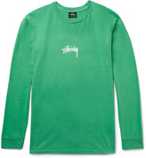 Stüssy - Printed Cotton-jersey T-shirt