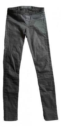 Helmut Lang Black Cotton Jeans