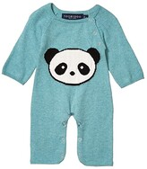 Toobydoo Panda Jumpsuit (Infant) (Green) Kid's Jumpsuit & Rompers One Piece