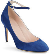 Kate Spade Dakota Almond-Toe Suede Pumps