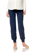A Pea in the Pod Secret Fit Belly Crepe Slim Leg Maternity Ankle Pants