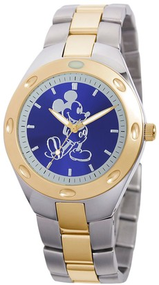 Disney Mickey Mouse Two-Tone Watch Adults