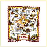 New Mexico State Souvenir Dish Towel