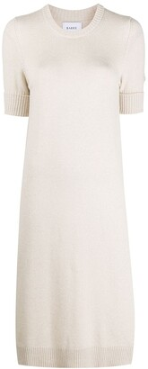 Barrie Short-Sleeved Cashmere Dress