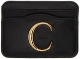 Chloé Black C Card Holder