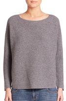 Eileen Fisher Cashmere Rib-Knit Sweater